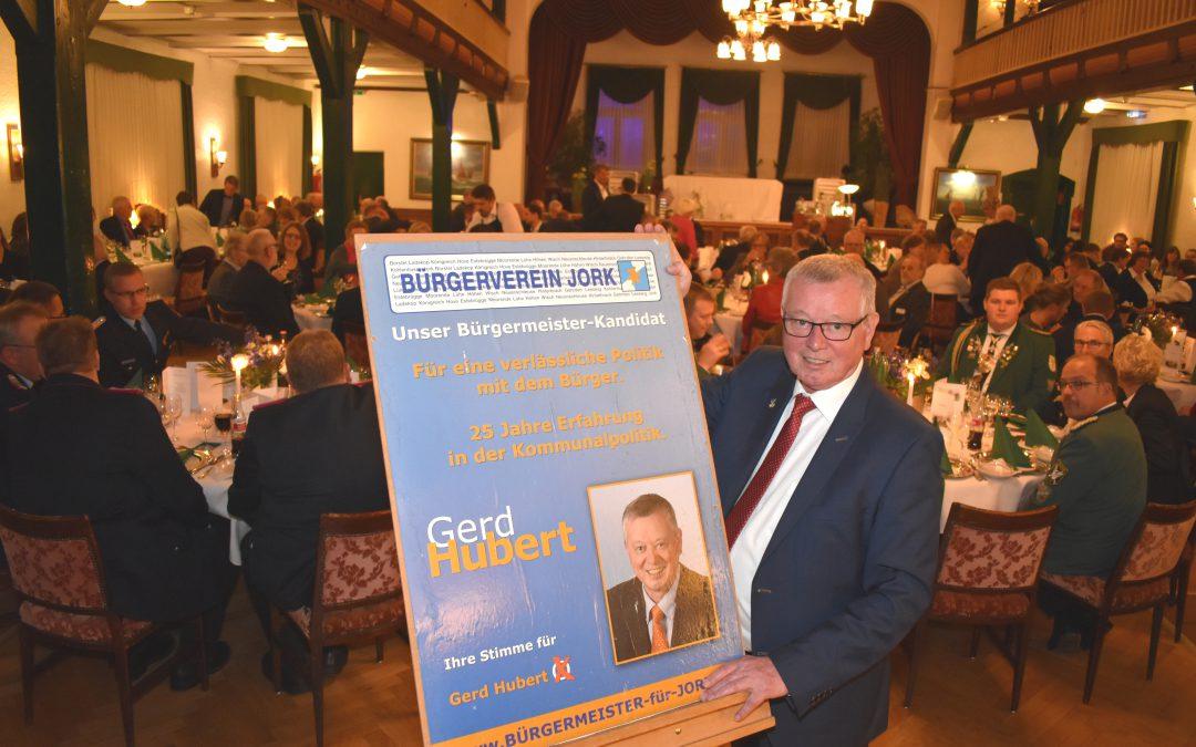 Der BVJ sagt: danke, Gerd Hubert.