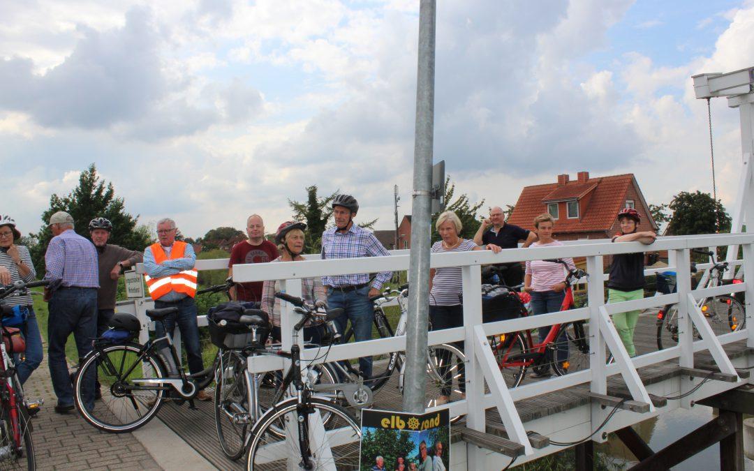 """Mit dem Fahrrad """"Auf dem Hollerweg"""""""